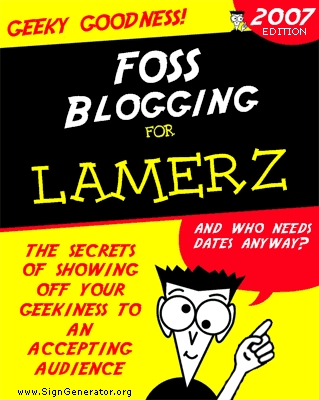 a blogging for dummies book