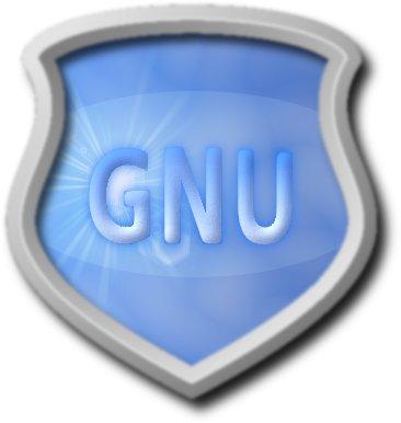 GNU shield
