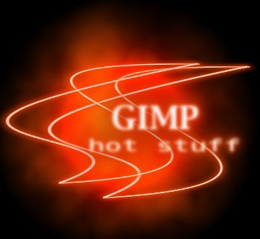 Gimp is hot stuff