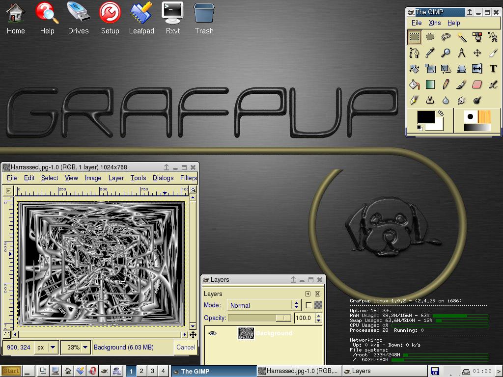 Grafpup screenshot 1