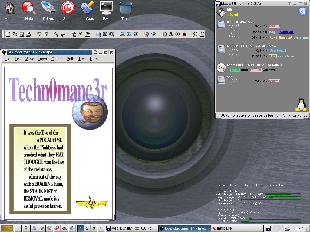 Grafpup screenshot 2