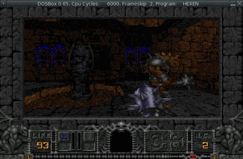 Hexen screenshot the first