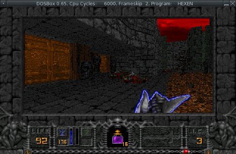 Hexen screenshot the second