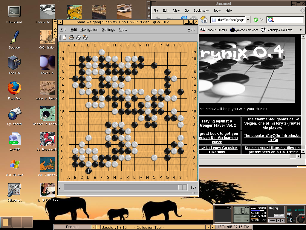 Hikarunix screen-shot