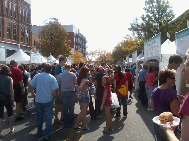 Iowa International Food Festival 2011