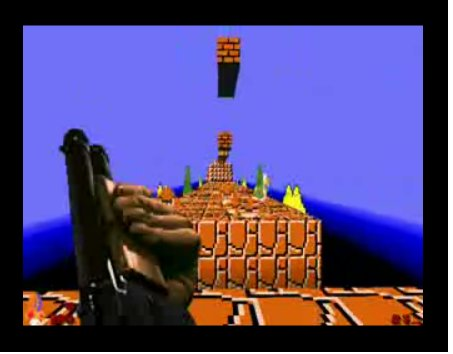 the Mario Brothers Doom wad