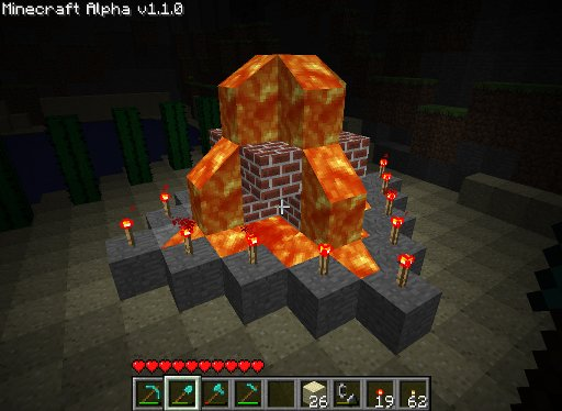 Minecraft_Lava_Fountain