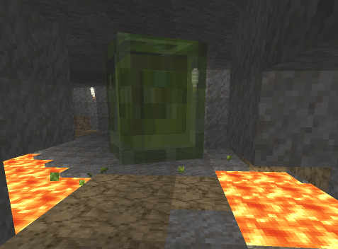Minecraft goddamn big slime