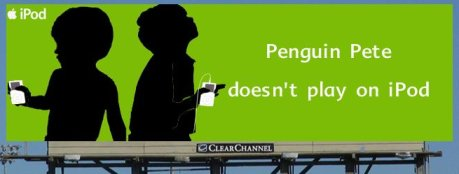 Penguin Pete doesn't play on iPod.