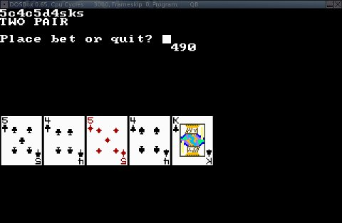 Penguin Pete's Blog - HOWTO Play With Your Old QBasic
