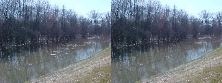river before-and-after