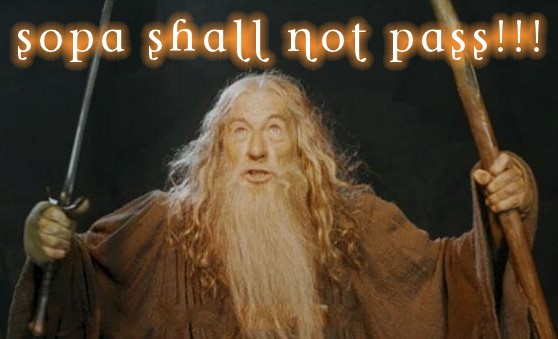 SOPA shall not pass!!!