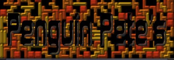 A sig in Tetris blocks