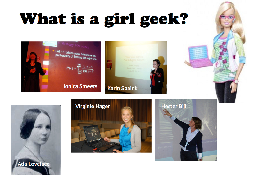 These are girl geeks