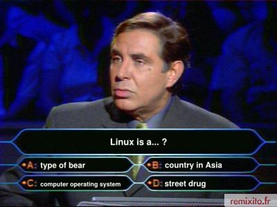 What is Linux, Mr. America?