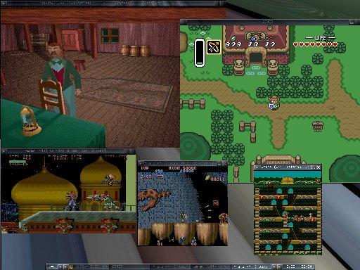 five games on my desktop