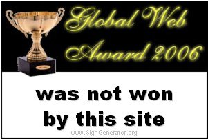 not a web award