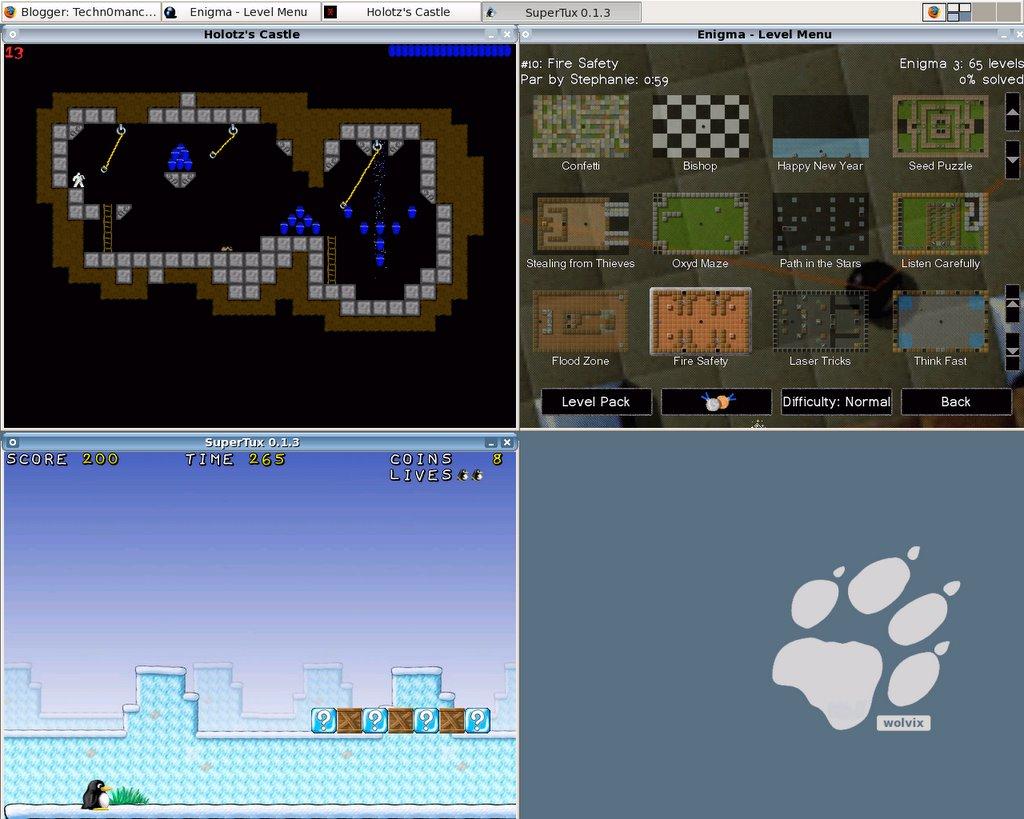 Wolvix screen-shot 1